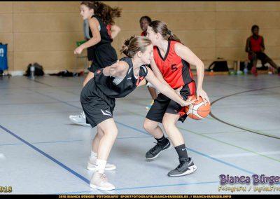 wU14-OL - Weddinger Wiesel 1 vs TSC Spandau 1 (Basketball, 2018-2019)