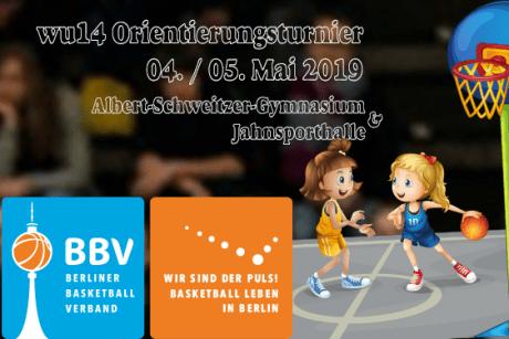 wU14 beim Berliner Orientierungsturnier am 04./05. Mai 2019